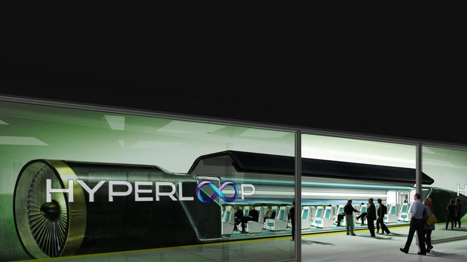 Hyperloop One is the only company that has built podcars (computerised capsules containers), which is a hybrid of a spaceship and a train, which will travel in nearly vacuum tunnel at over 1,000 kmph.