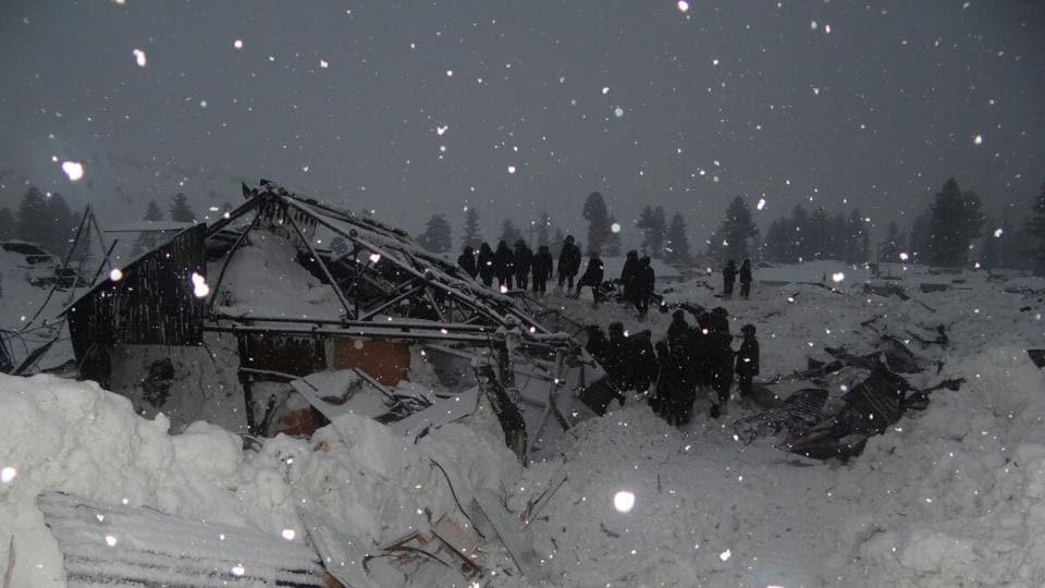 Avalanche fury in Gurez sector.
