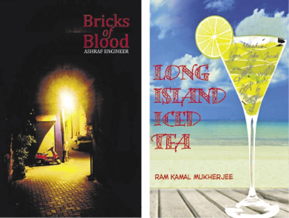 Bricks of Blood revolves around a commando who enters into a life-threatening conflict; Long Island Ice Tea is a fictional collection of stories