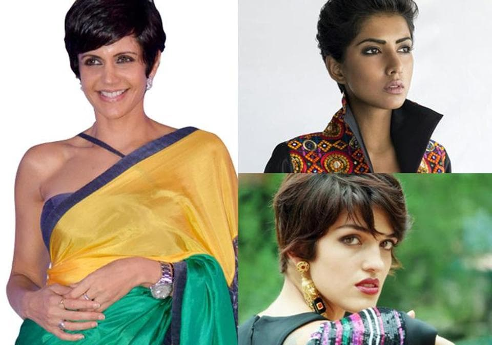 Girls with short hair often become the victim of prejudice in the glamour world.