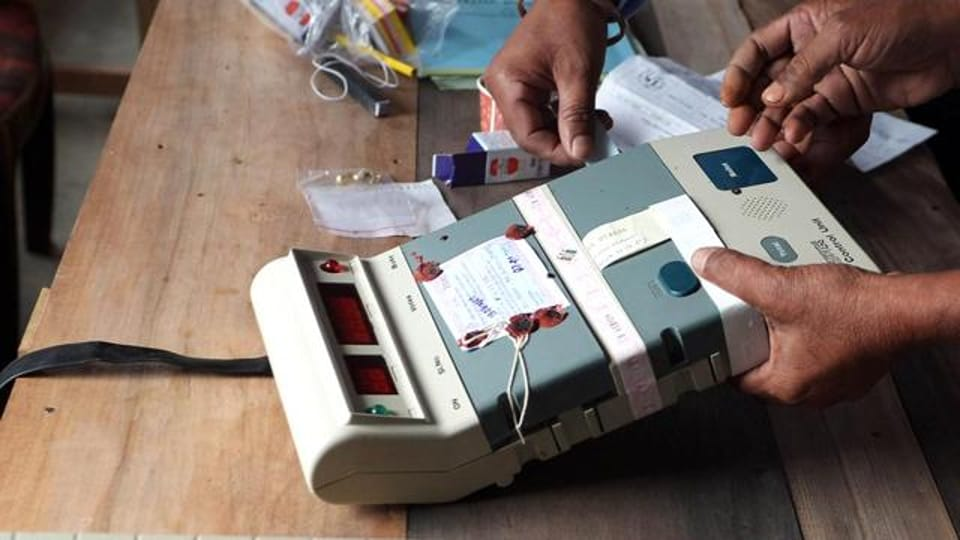 VVPAT machines, which allow people to verify if they voted correctly, have been introduced in 22 district headquarters besides 11 high-profile constituencies.