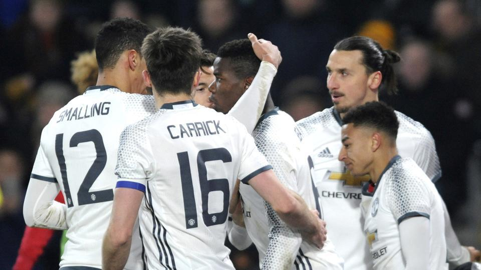 Manchester United F.C entered the final of the EFLCup despite losing the second leg to Hull City 2-1.
