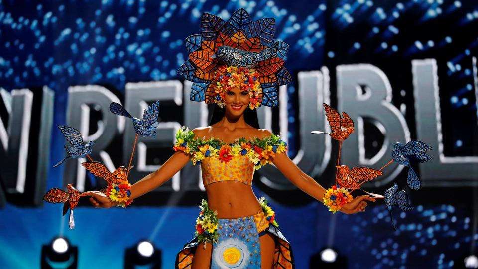 Miss Universe candidate from Dominican Republic, Sal Garcia. (REUTERS)