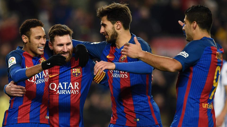 FC Barcelona were drawn with 10-times winners Atletico Madrid in the Copa del Rey semi-finals.