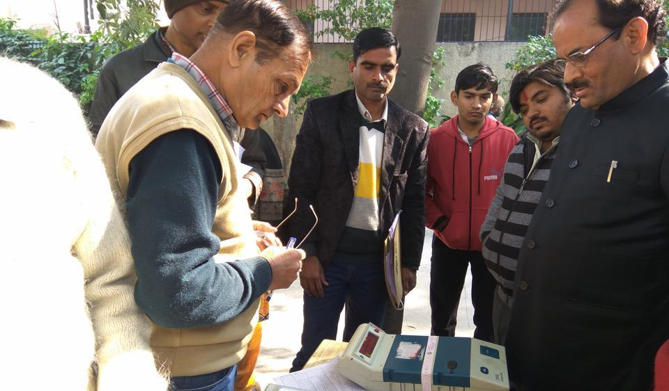 For the past two weeks, a two-minute short film on voter awareness has been doing the rounds in the cinema halls and multiplexes of Noida.