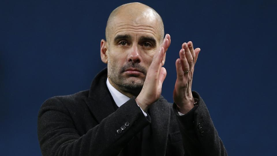 Manchester City FC boss Pep Guardiola is under pressure to salvage something from the season after conceding the Premier League title was beyond his side
