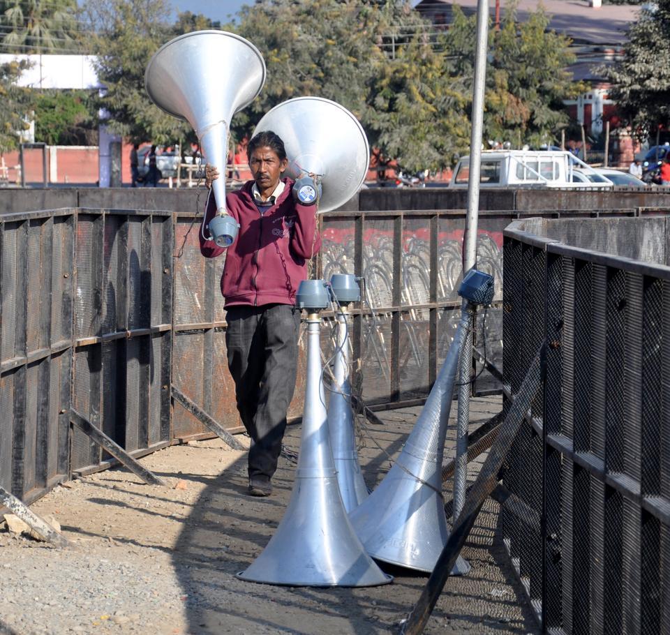 loudspeaker,2017assemblypolls,uttarakhand