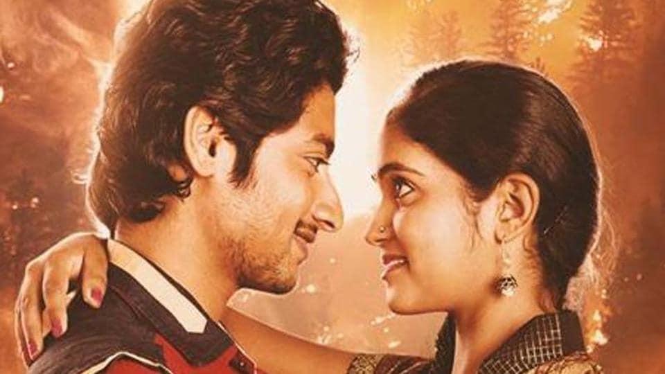 Marathi film Sairat stared Rinku Rajguru and Akash Thosar  and was directed by Nagraj Manjule.