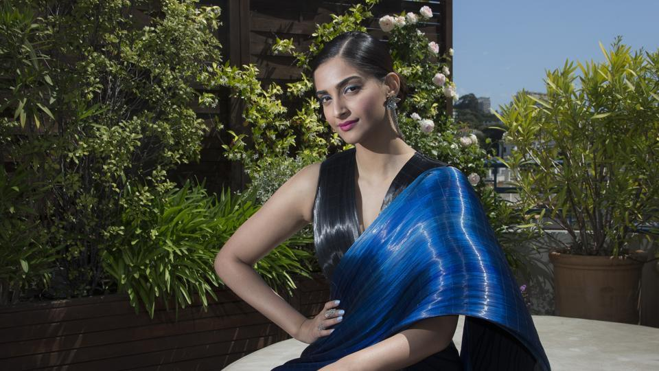 Not only in terms of draping, saris are seeing a reinvention in terms of fabrics used too.
