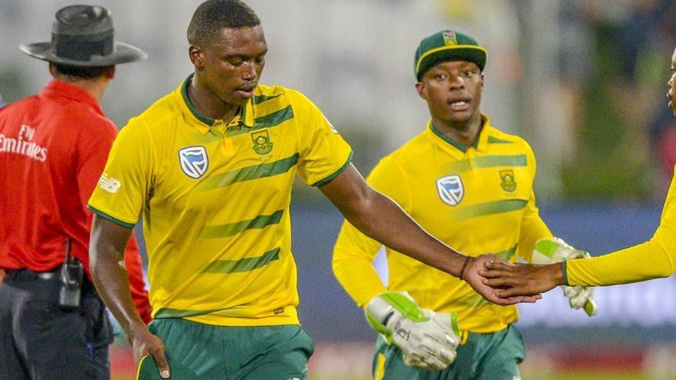 Lungi Ngidi,South Africa national cricket team,Sri Lanka national cricket team