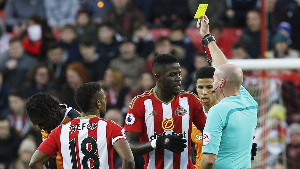 Sunderland FC defender Papy Djilobodji was banned by the Football Association due to violent conduct.