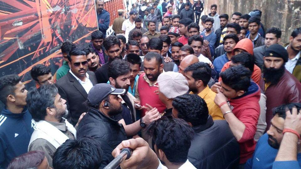 Sanjay Leela Bhansali was shooting at Jaigarh Palace when protesters entered the sets of Padmavati.