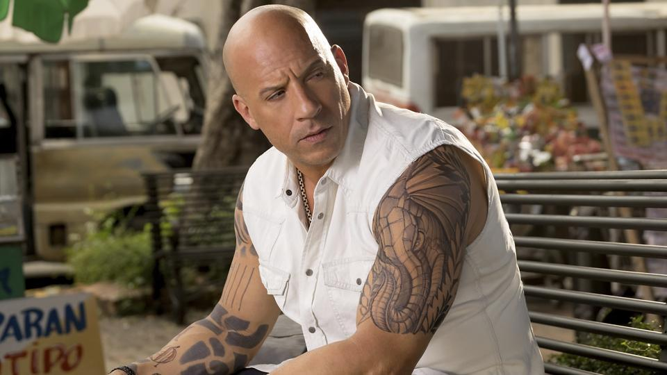 This image released by Paramount Pictures shows Vin Diesel as Xander Cage in xXx: The Return of Xander Cage.