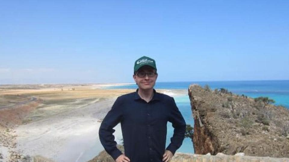 Jeppesen on the island of Socotra. He says the place hardly sees any tourists because of the political unrest in Yemen.