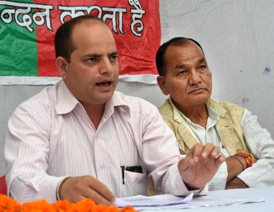 UKD has pinned hopes on party founding-member and patron Kashi Singh Aeri (Didihat constituency) and party president Pushpesh Tripathi (Dwarahat).