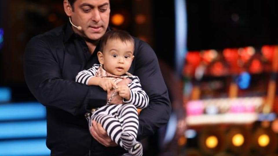 Or when Salman Khan's sweet little nephew came visiting.