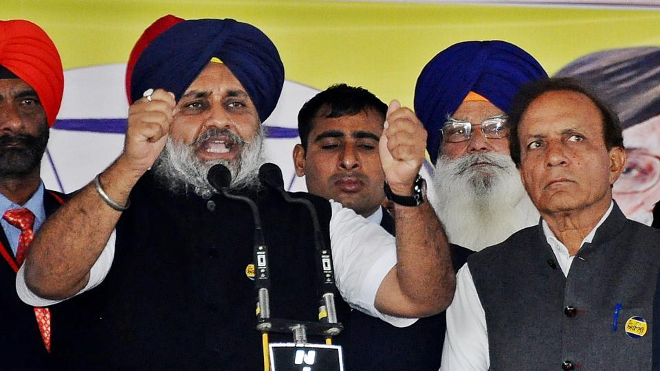 Punjab deputy chief minister Sukhbir Singh Badal addressed two rallies in Nihal Singh Wala and Baghapurana in support of party candidates Shiv Ram Kaler and Tirath Singh Mahla, respectively on Friday.