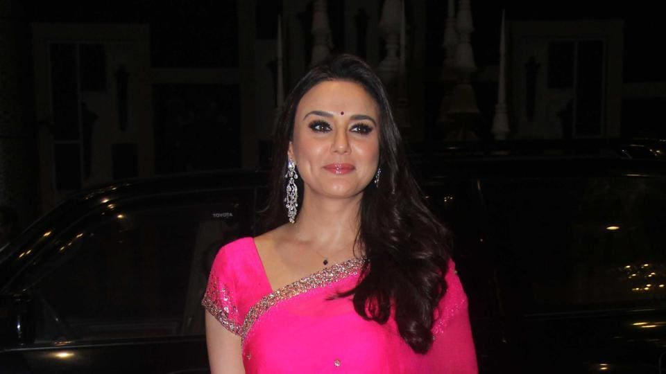 Actor Preity Zinta celebrates her first birthday after marriage today.