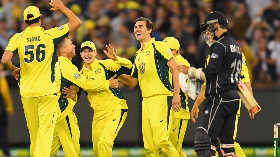 Australia thrashed New Zealand 3-0 in the previous Chappell-Hadlee encounter in December.