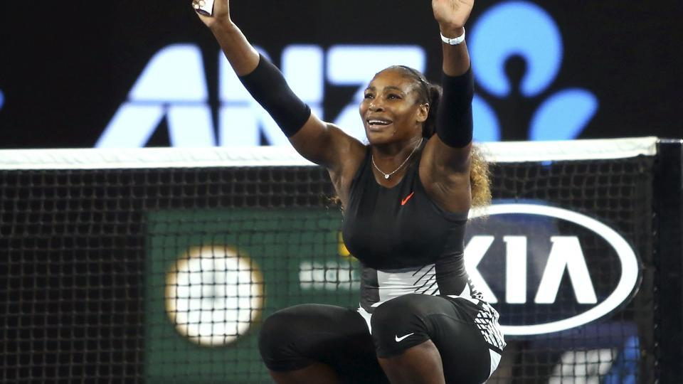 Serena Williams overtook Steffi Graf's record of 22 Grand Slams as she secured her seventh Australian Open title.