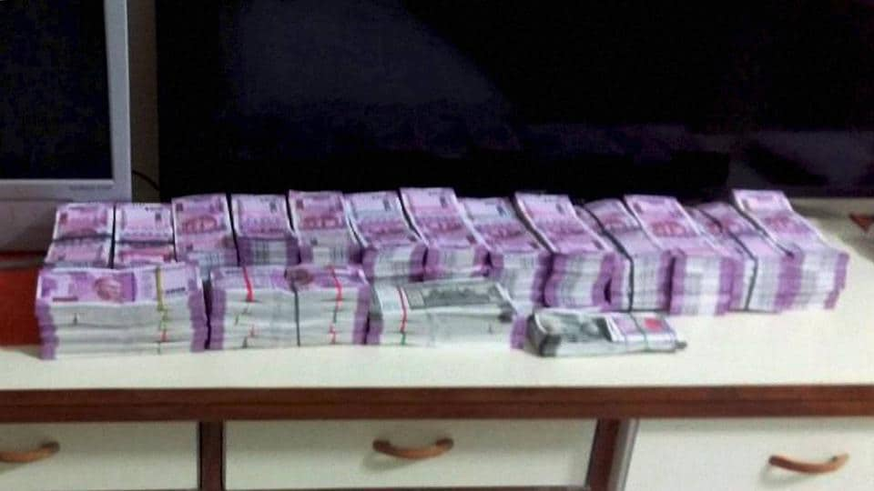 Crores have been seized in Uttar Pradesh after the model code of conduct was enforced in the state.