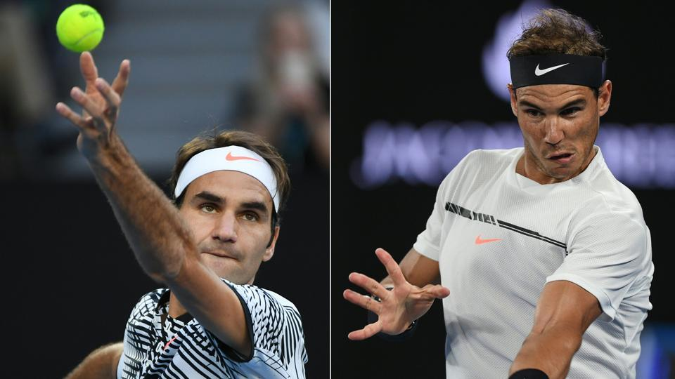 Rafael Nadal beat Grigor Dimitrov while Roger Federer got the better of Stan Wawrinka in five sets to set up the dream final against each other at the Australian Open on Sunday.