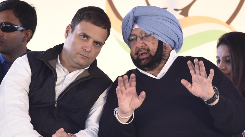 Punjab polls,Rahul Gandhi,Captain Amarinder Singh