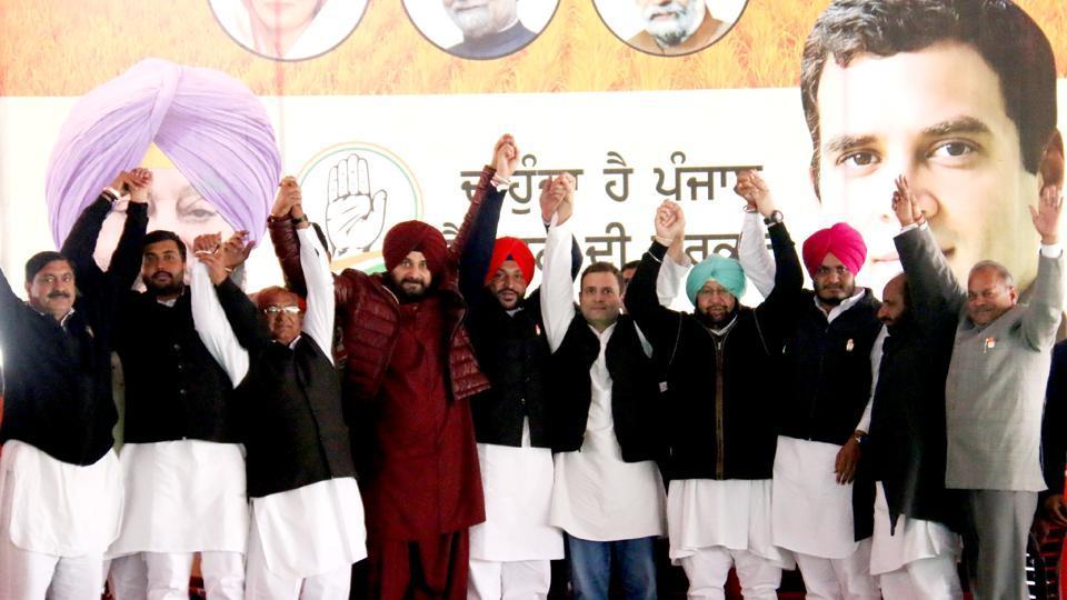 Capt Amarinder Singh,Sukhbir Singh Badal,Ravneet Singh Bittu