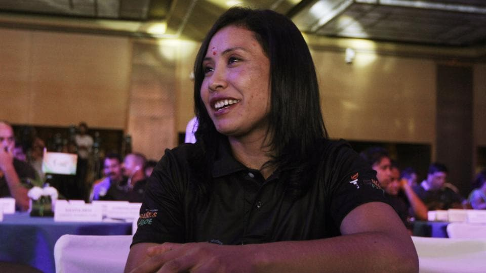 Woman boxer Sarita Devi, who will be making her professional debut against a Hungarian boxer in Imphal onSunday, says she wants to win it for her family who have sacrificed so much for her.