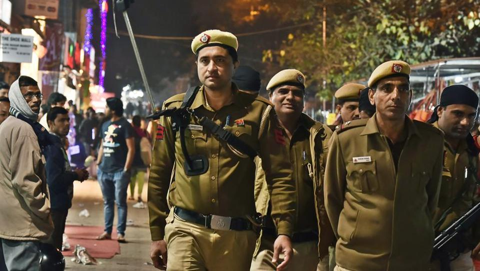 Delhi police has strengthened deployment in the national capital in view of Beating Retreat ceremony on Sunday and Martyr's Day at Rajghat on Monday.