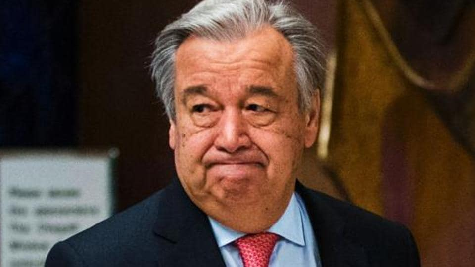 United Nations Secretary-General Antonio Guterres said anti-Semitism is alive and kicking, and Irrationality and intolerance are back.