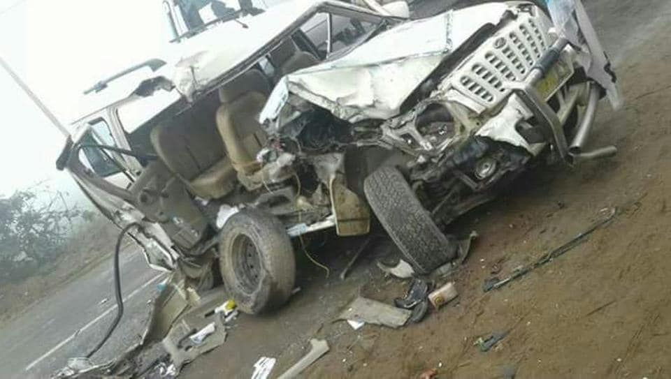 vehicle collision,One killed,AAP