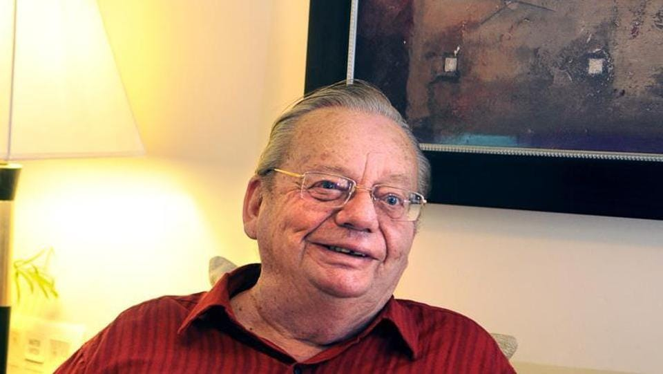 Author Ruskin Bond says there is so much violence in films and TV serials that it is difficult for him to find something to watch on TV that he can actually enjoy.