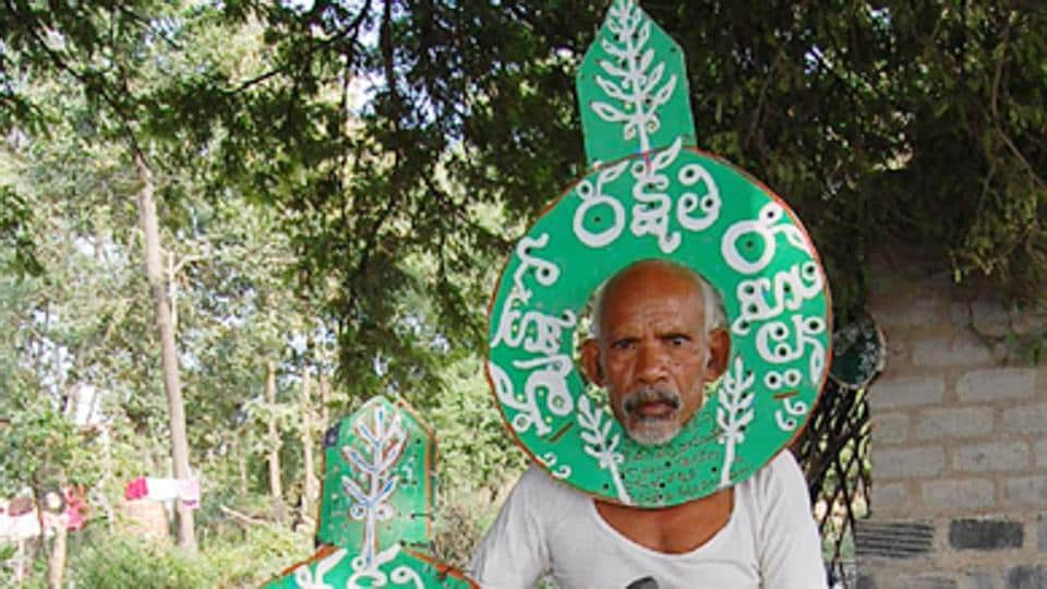 Daripalli Ramaiah have been starting his day on a bicycle carrying saplings and seeds from his humble home in Reddipalle village in eastern Telangana.