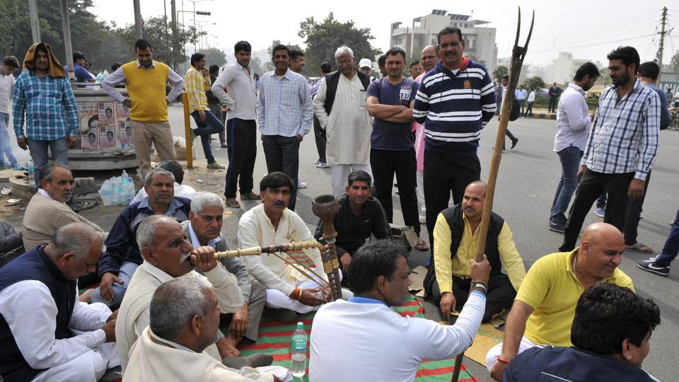 Members of the Jat community in Haryana carried out a long protest for reservations in government services in February 2016. The stir had shut down several cities, including Rohtak which was among the worst  affected.