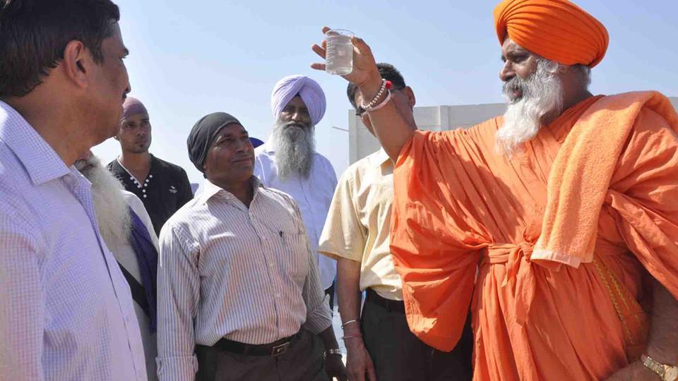 Enviormentalist Baba Balbir Singh Seechewal in Jalandhar.
