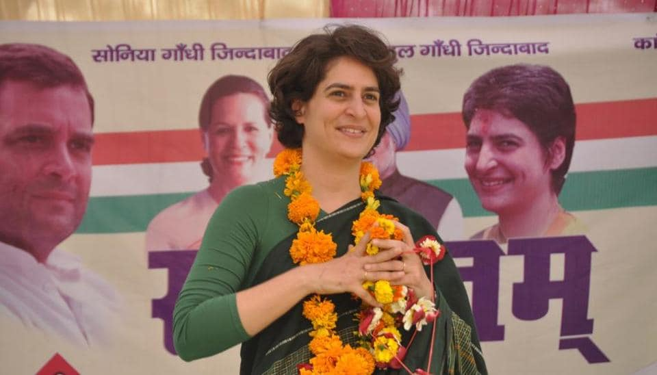 Priyanka Gandhi has been named on the list of star campaigners for Congress in Uttar Pradesh.