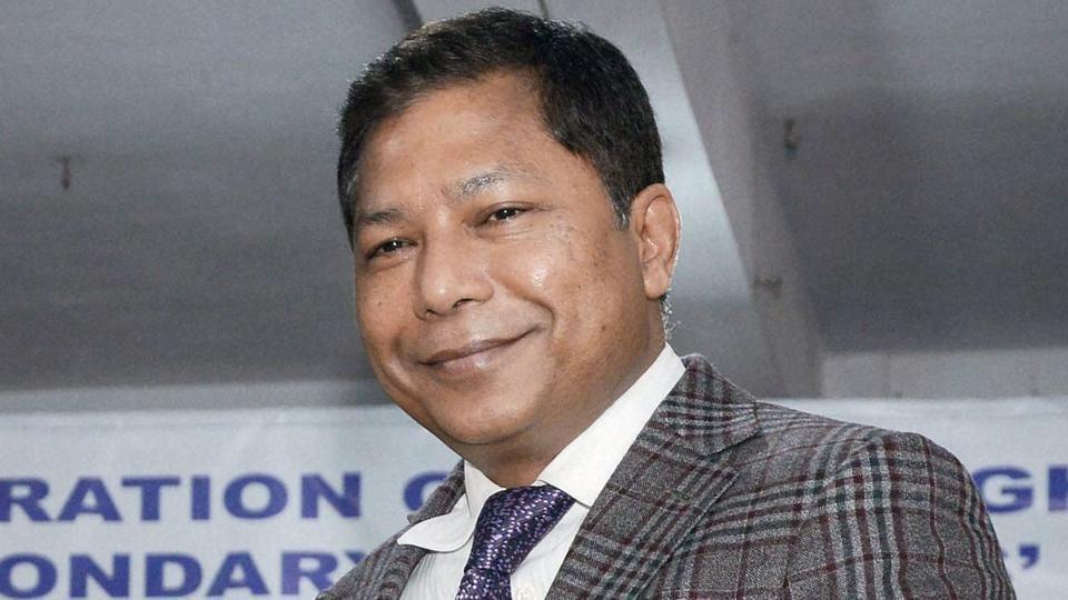 Meghalaya chief minister Mukul Sangma.