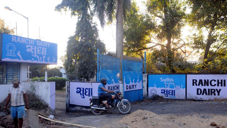 Shudha's milk plant - Ranchi Dairy at Dhurwa in Ranchi