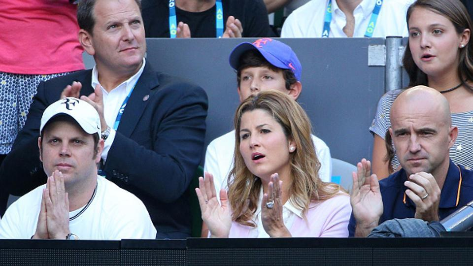 Mirka got married to Roger Federer in 2009. They first met during the 2000 Sydney Olympics, where Mirka was playing. (Getty Images)