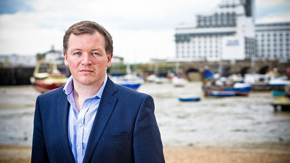 """Damian Collins, chairman of Culture,  Media and Sport Committee of the UK House of Commons that has launched an inquiry into """"fake news""""."""