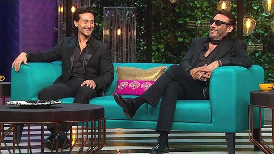 Tiger Shroff,Jackie Shroff,Karan Johar
