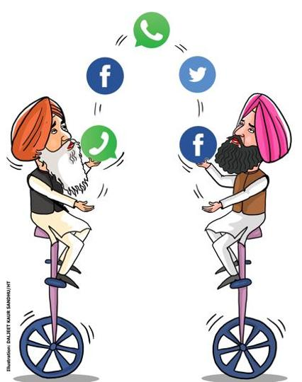 """Both say social media have made things easy and increased their reach manifold. """"But for Facebook and WhatsApp, it wouldn't have been easy for us,"""" say the two brothers."""