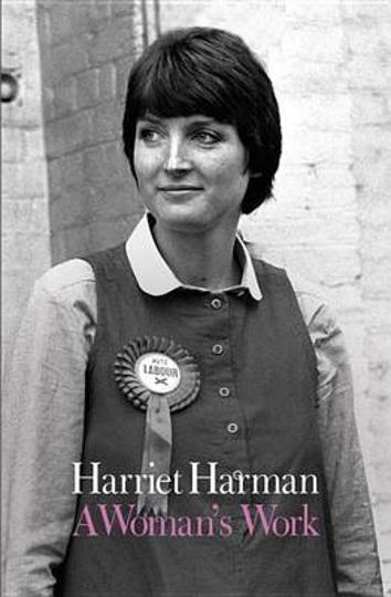 Image of Labour Party leader Harriet Harman featured on the cover of her memoir, A Woman's Work. Harman has alleged that her Indian professor at the University of York in the 1970s had offered her a better grade if she slept with him.