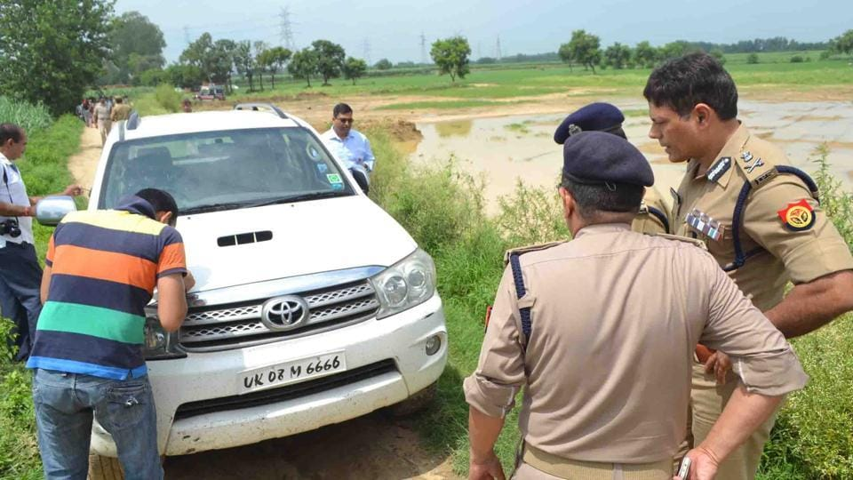 Police recovered a Fortuner stolen from DLF Phase 1 that was used in the attack of BJP leader Brijpal Teotia in August 2016.