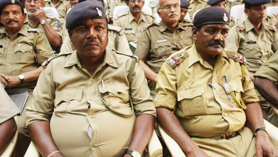 The flab-to-fit mission was introduced for police in Gujarat's Surendranagar district after a medical camp in December last year threw up fresh cases of diabetes and fatigue among young but obese men and women in khaki.