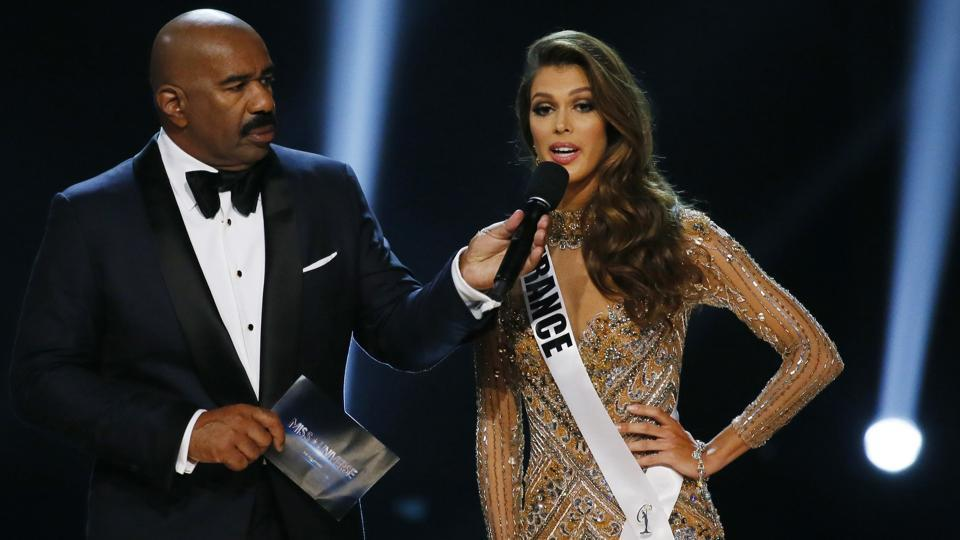 """I was very surprised I won, I feel blessed. Miss Universe was a dream, every girl wants to be Miss Universe ... the stage is amazing, everything is amazing,"" said the 24-year-old, whose competition profile had described her goal as advocating for dental and oral hygiene if she won. (AP)"