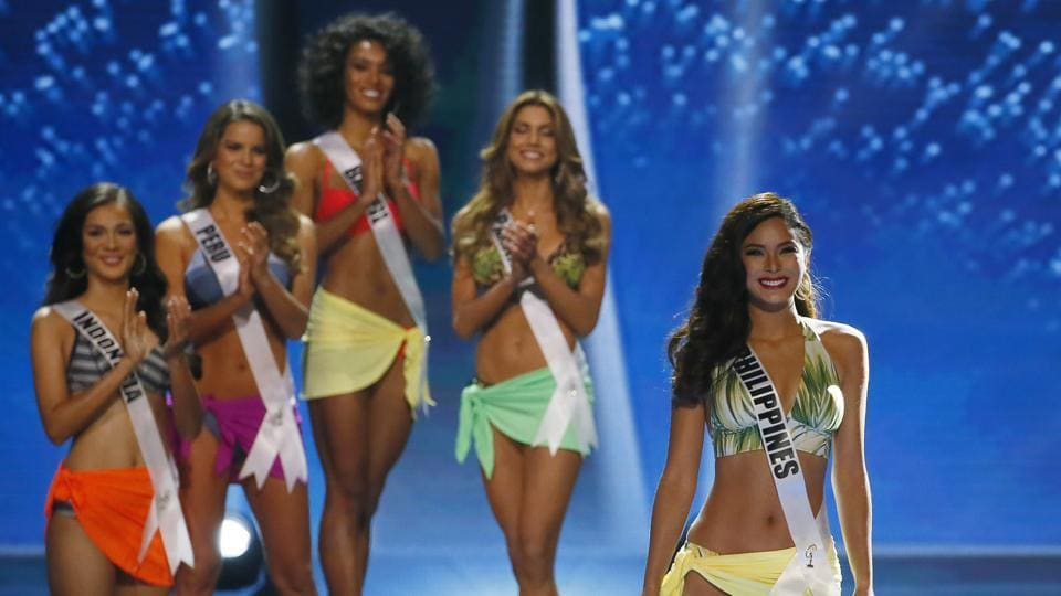 Medina had a hard act to follow in the run-up to the competition, with the wildly popular Filipina Pia Wurtzbach the reigning champion, and hogging much of media attention.  (AP)
