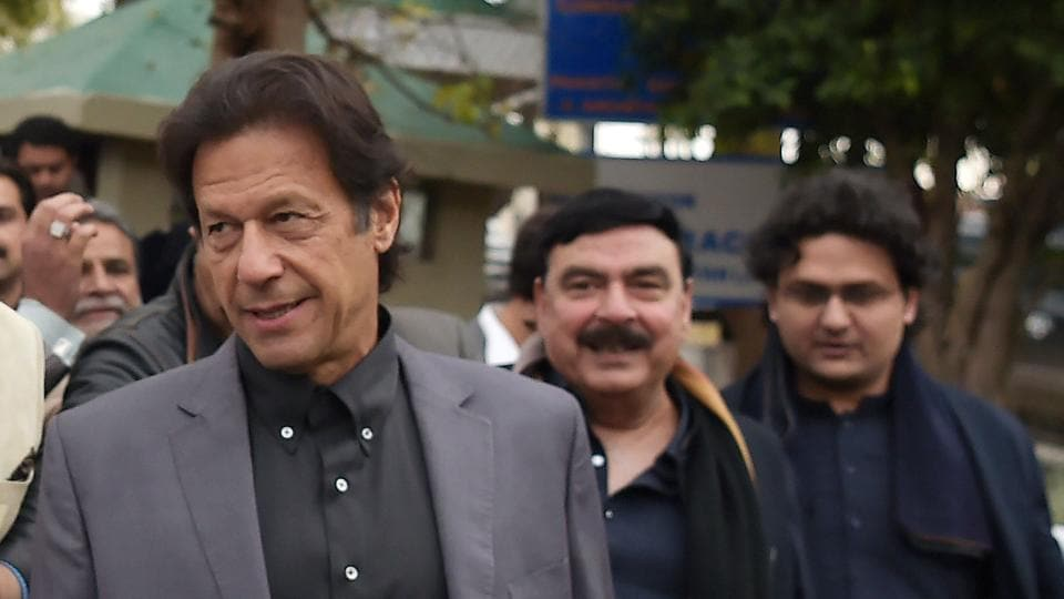 Pakistani cricketer-turned-opposition leader and head of Pakistan Tehreek-i-Insaf (PTI), Imran Khan said he hopes Donald trump imposes visa restrictions on Pakistan as he believes the move will help the country to develop.