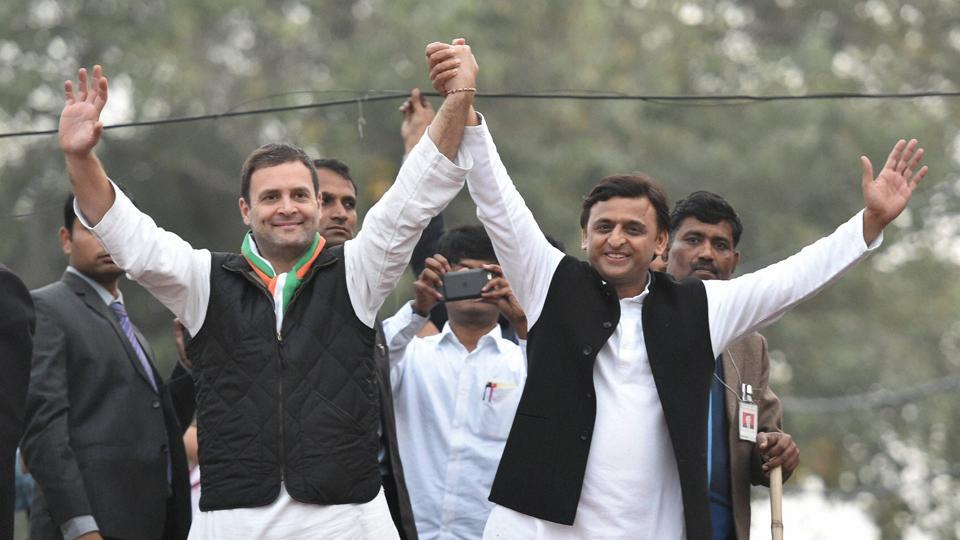 Congress,Samajwadi Party,Grand Alliance
